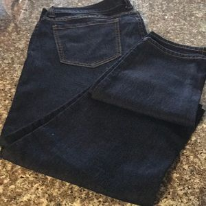 Jeans Plus Sz 16 Forever 21+ Straight Leg. Stretch